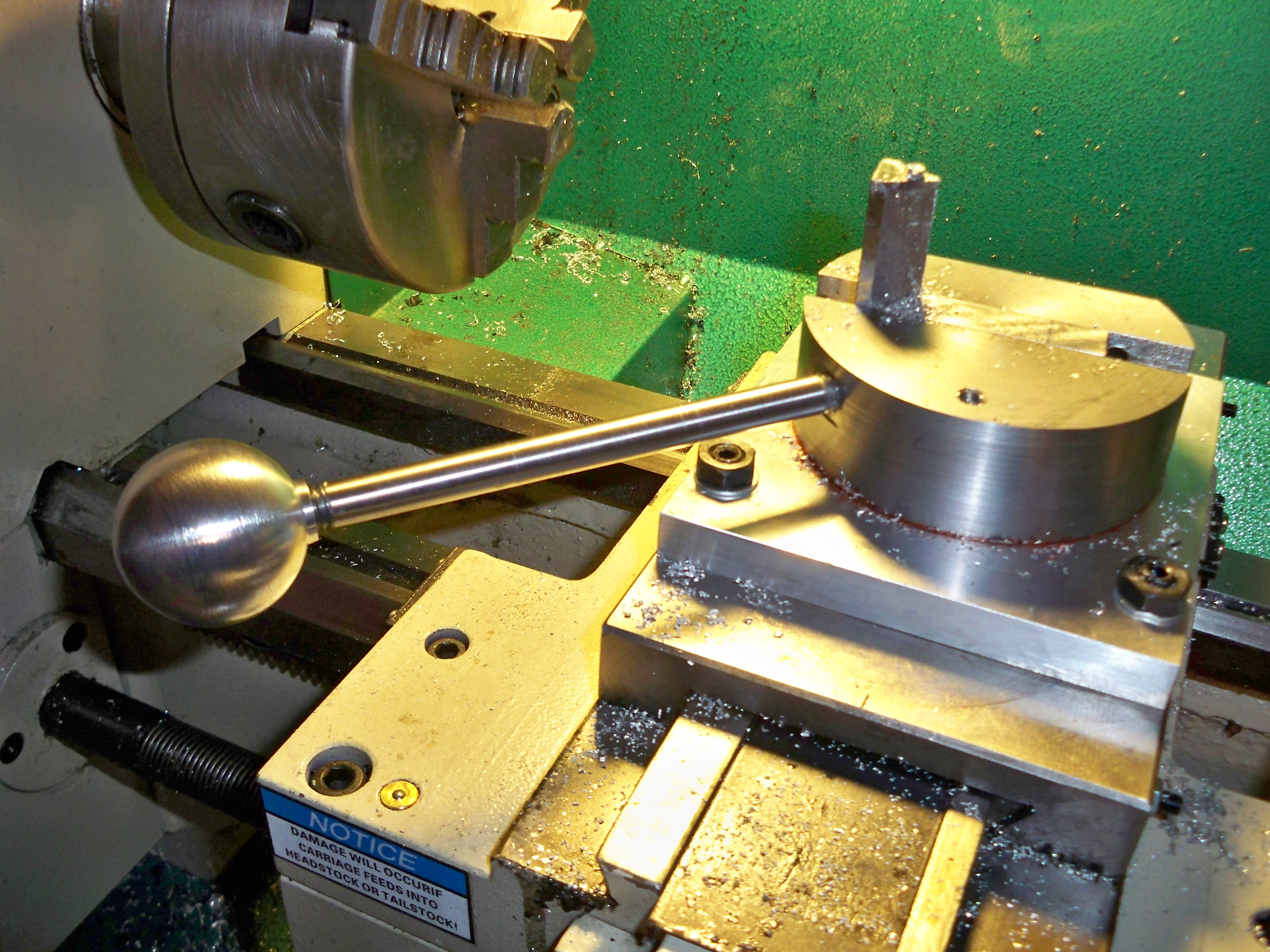 Free Metalworking Project Plans: Ball Turning Toolpost ...
