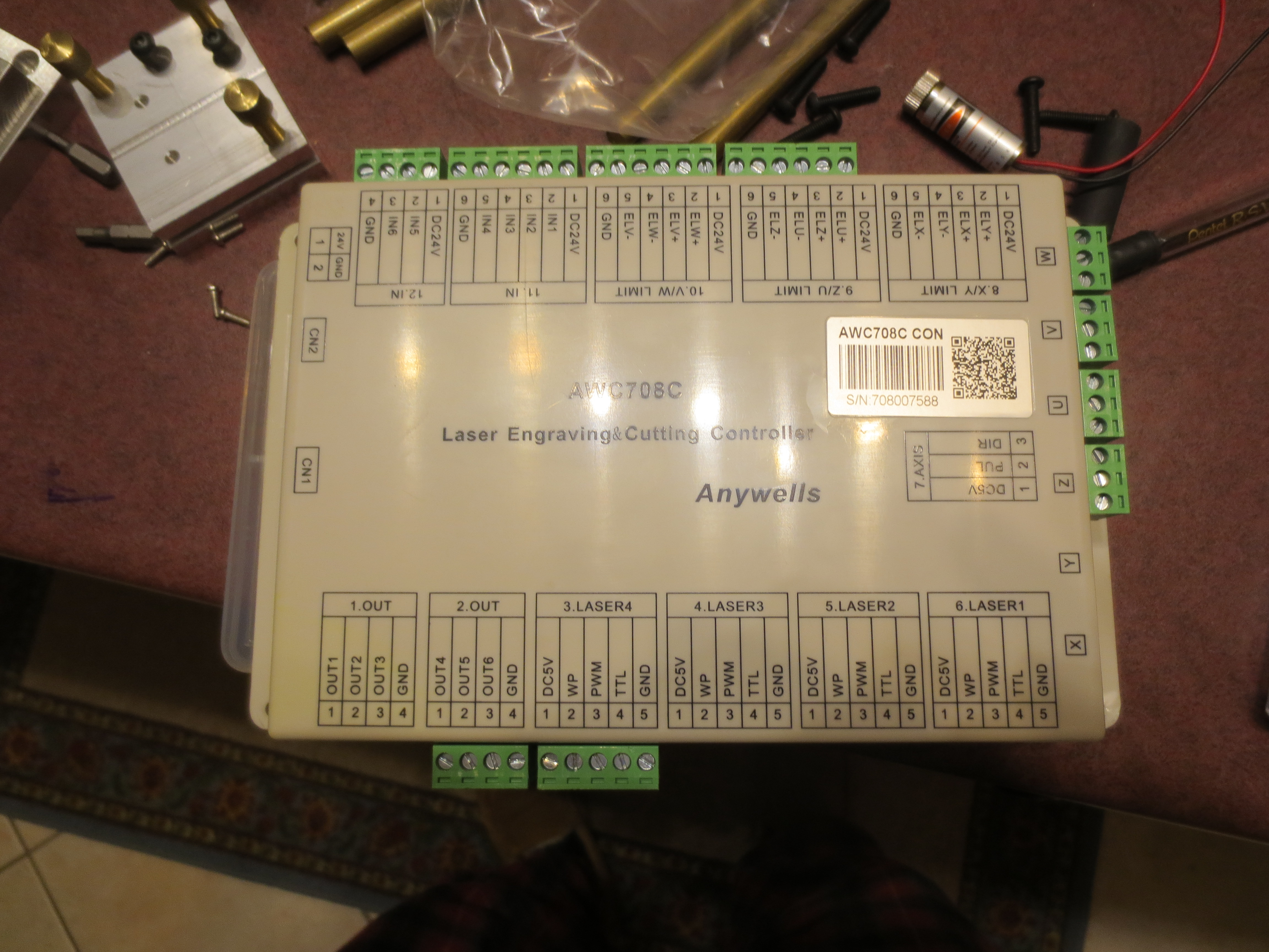 Co2 Laser Controllers Electronics Similar Results 40w Power Supply Circuits Awc708c Plus Description My Latest